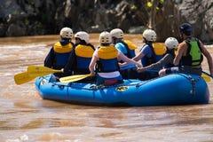 Flisacy trenuje na Potomac rzece - 2 obraz royalty free