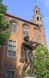 Flisak statua w Toruńskim, Polska Zdjęcia Royalty Free