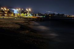 Flisvos night Stock Image