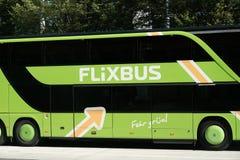 FlixBus公共汽车 库存图片