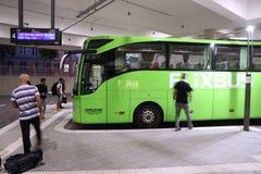 Flixbus en Allemagne photographie stock libre de droits