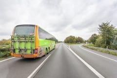 Flixbus - Europese bus over lange afstand stock fotografie