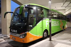 Flixbus Setra Foto de Stock Royalty Free