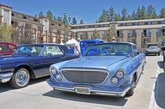 Fällda ned Chrysler 300 Royaltyfria Bilder