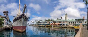 Fälle von Clyde am 6. August 2016 in Honolulu-Hafen Stockfotos