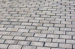 Flloor tiles of paving stones Stock Photos