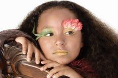 Fllower Princess Royalty Free Stock Photography