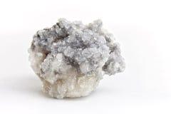 Flluorite на белой предпосылке Стоковая Фотография