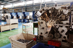 Flo фабрики машин CNC высокой точности автомобильное Стоковые Фото