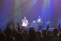 Flo Rida on Stage at Credit Union Place Stock Image
