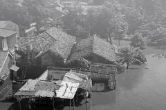 Floading em Jakarta Imagens de Stock