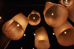 Float Candle. Chiangmai, Thailand, North Stock Photos