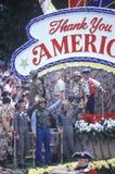 Float in Desert Storm Victory Parade, Washington, D.C. Stock Photo