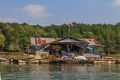 Float fishing village Stock Photo