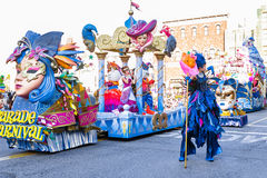 A  float parade Stock Photography