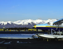 Float plane Alaska Stock Images