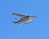 Float Plane Royalty Free Stock Images