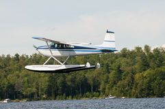Float plane or seaplane Stock Image