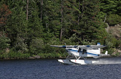 Float Plane Take-off Stock Images