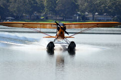 Float Plane Taxi Stock Photos