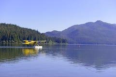 Float plane in the wilderness, Alaska Stock Image