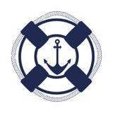 Float ship maritime frame Stock Photography