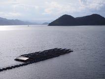 Float solar farm Stock Image