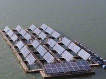 Float solar farm Royalty Free Stock Photo