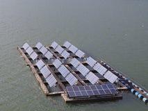 Float solar farm Royalty Free Stock Image