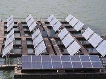 Float solar farm Royalty Free Stock Photography
