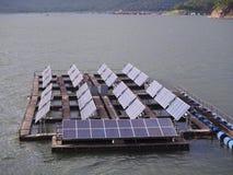 Float solar farm Royalty Free Stock Photos