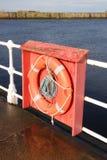 Floatation device, Whitby, UK Royalty Free Stock Photos