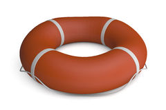 Floated. Render of an isolated floater Stock Image