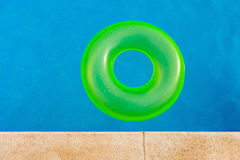 Floater on the pool Stock Image