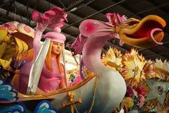 floatgrasmardi New Orleans arkivbild