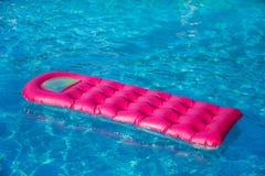 Floating air mattress Stock Photo
