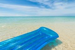 Floating air mattress Royalty Free Stock Photos