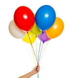 Floating balloons Royalty Free Stock Image