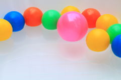 colorful balls Royalty Free Stock Image