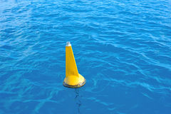 Floating beacon Stock Photography