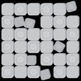 Floating blocks Royalty Free Stock Photo