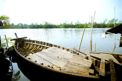 Asia boat Stock Image