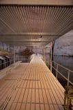 Floating Bridge Royalty Free Stock Photo
