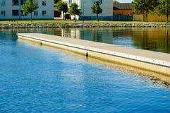 Floating bridge Royalty Free Stock Images