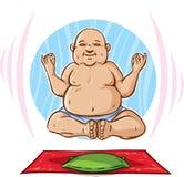 Floating Buddha Royalty Free Stock Image