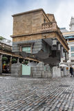 Floating building illusion Covent Garden Stock Photos