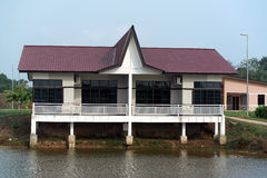 Floating Bungalow House Exterior Royalty Free Stock Photo