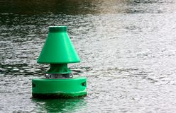 Floating buoy Stock Photography