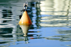 Floating buoy. Stock Image