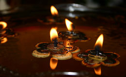 Floating Candles (1) Royalty Free Stock Image